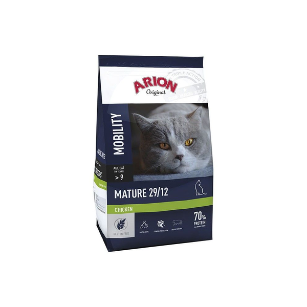 - Arion Mobility Mature 29/12 cats dry food 7.5 kg Adult Chicken