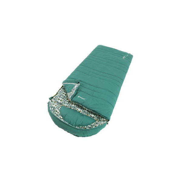 Outwell - Outwell Camper Supreme Adult Rectangular sleeping bag Cotton, Polyester Blue