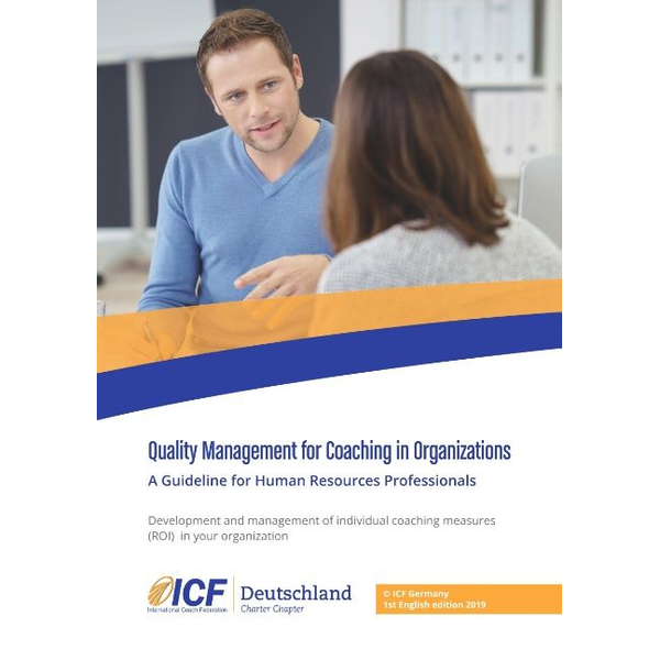 BoD – Books on Demand - Quality Management for Coaching in Organizations - A Guideline for Human Resources Professionals