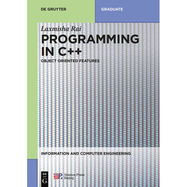 De Gruyter - Programming in C++ - Object Oriented Features