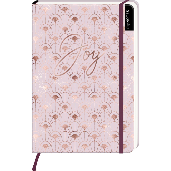 - myNOTES Notizbuch A5: Joy