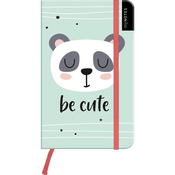 - myNOTES Notizbuch A6: Be cute