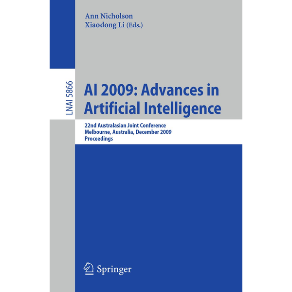 Springer Berlin - AI 2009: Advances in Artificial Intelligence - 22nd Australasian Joint Conference, Melbourne, Australia, December 1-4, 2009, Proceedings