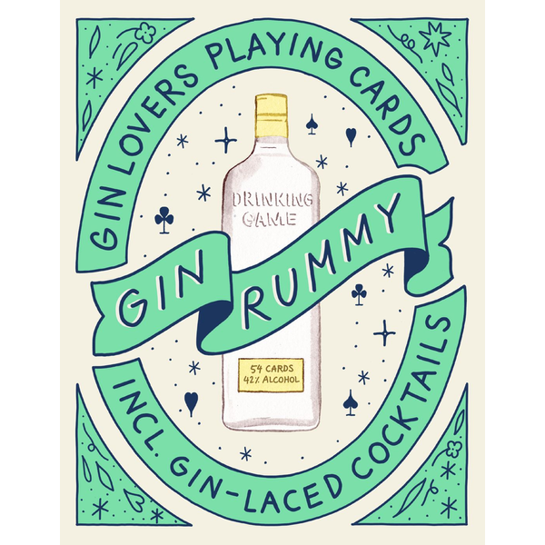- Gin Rummy - Gin Lovers Playing Cards