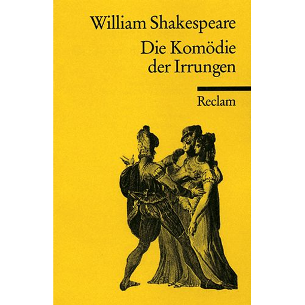 William Shakespeare - Komödie der Irrungen