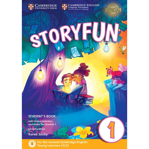 Klett Sprachen GmbH - Storyfun for Starters, Movers and Flyers 1 2nd Edition - Student's Book with online activities and Home Fun Booklet