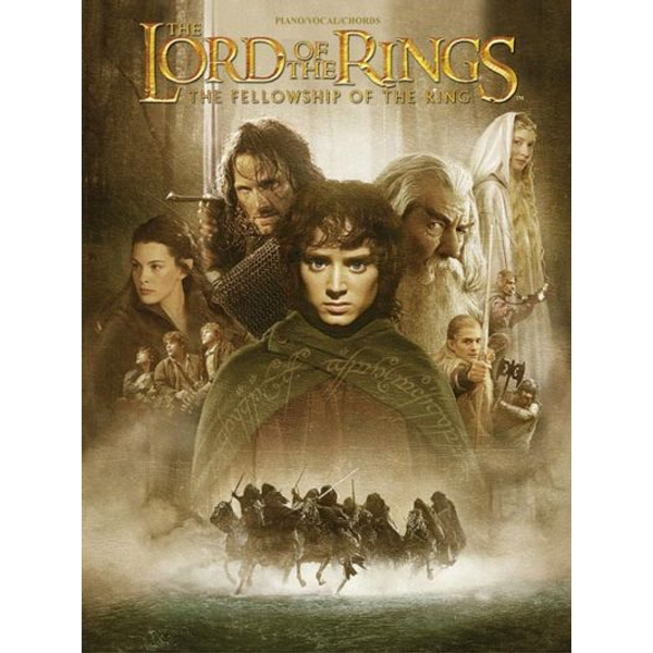 Alfred Music - The Lord of the Rings: The Fellowship of the Ring - Piano / Vocal / Chords