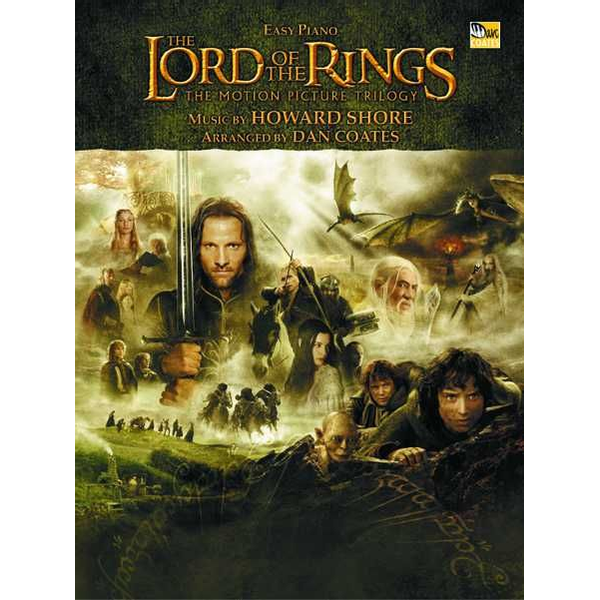 Howard Shore - The Lord of the Rings Trilogy - Music from the Motion Pictures Arranged for Easy Piano