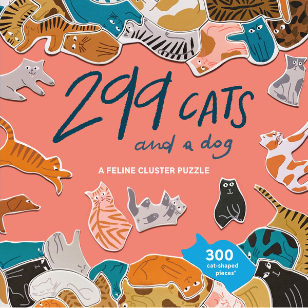 - 299 Cats (and a dog) - A Feline Cluster Puzzle