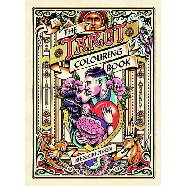Diana McMahon Collis - Tarot Colouring Book - A Personal Growth Colouring Journey