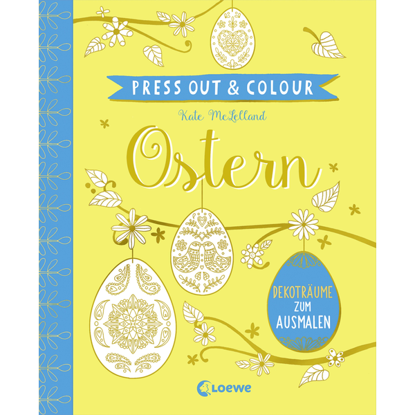 Loewe - Press Out & Colour - Ostern