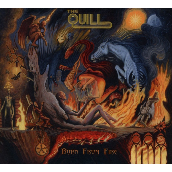 Quill,The - Born From Fire
