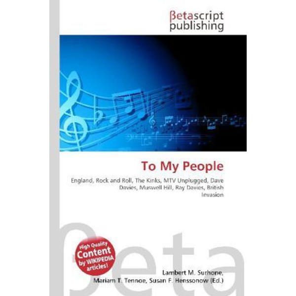 Betascript Publishing - To My People