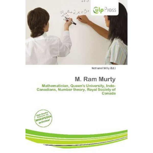 Alphascript Publishing - M. Ram Murty - Mathematician, Queen's University, Indo-Canadians, Number theory, Royal Society of Canada