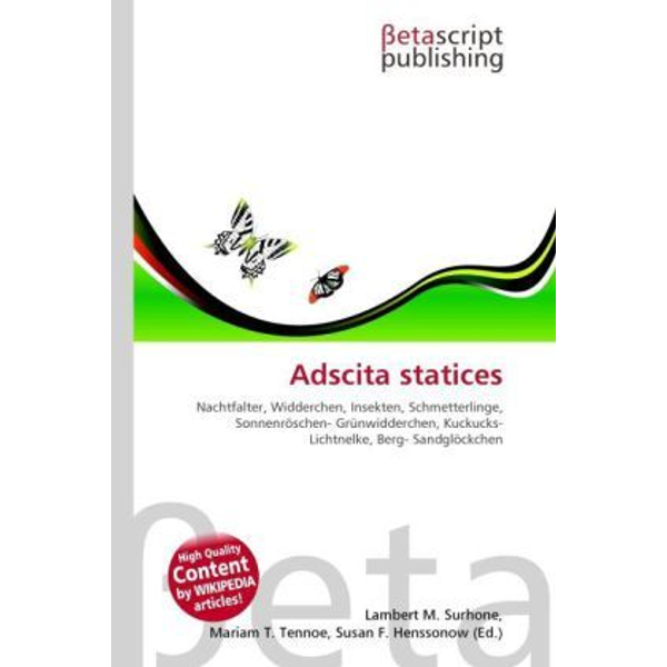 Betascript Publishing - Adscita statices