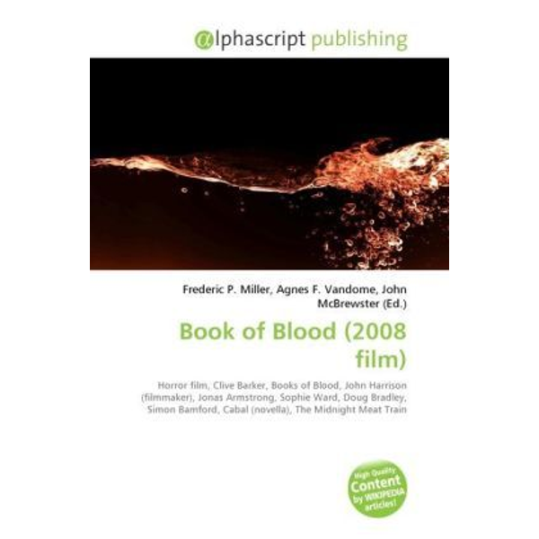 Alphascript Publishing - Book of Blood (2008 film)