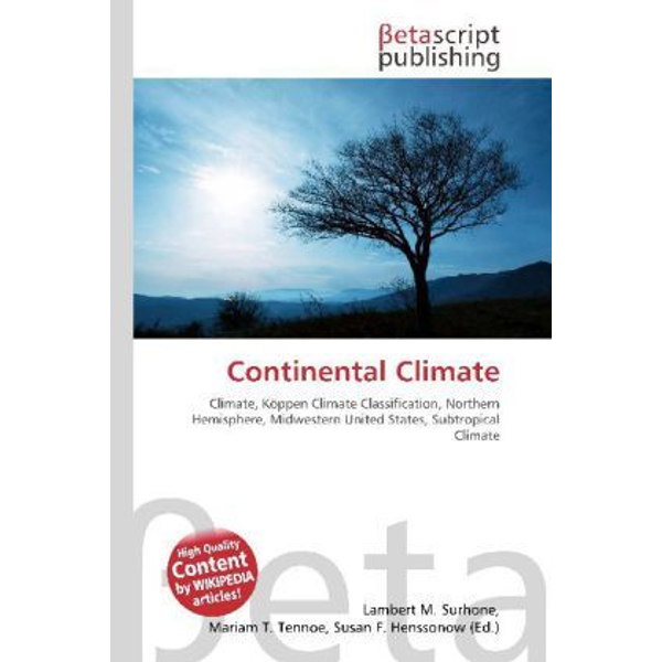 Betascript Publishing - Continental Climate