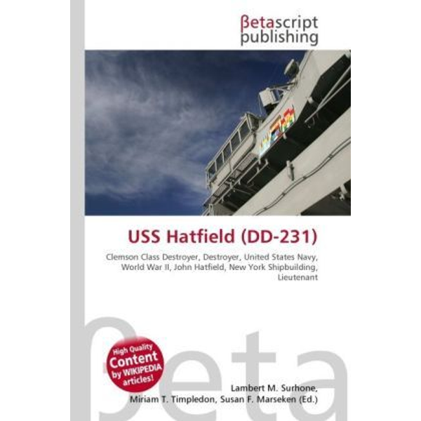 Betascript Publishing - USS Hatfield (DD-231)