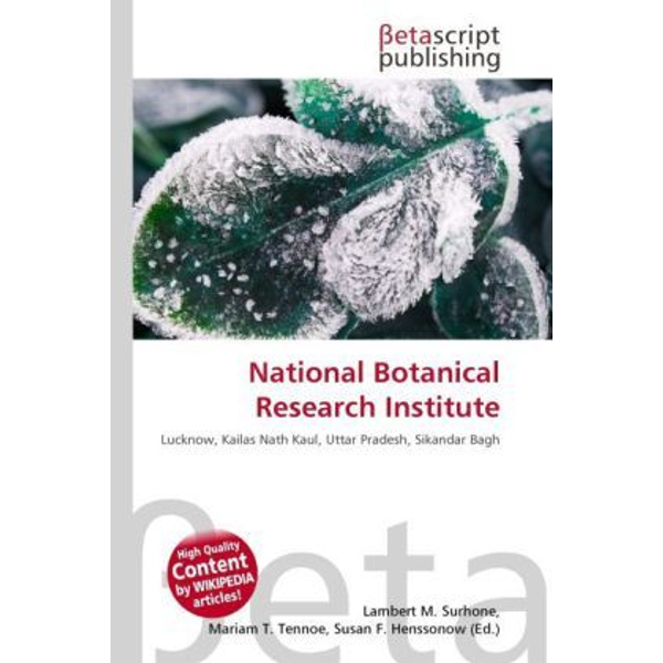 Betascript Publishing - National Botanical Research Institute