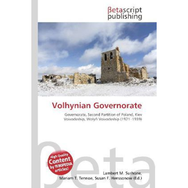Betascript Publishing - Volhynian Governorate