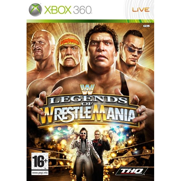 - THQ WWE Legends of Wrestlemania, Xbox 360, FR French
