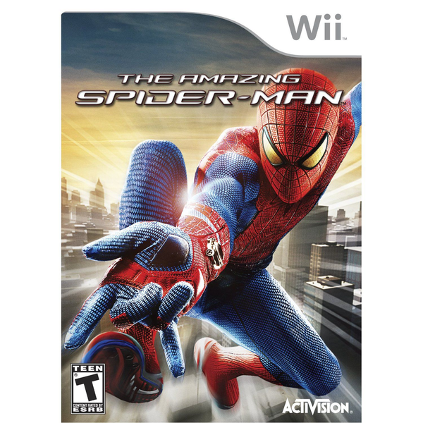 - Activision The Amazing Spider-Man, Wii English