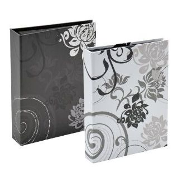 Walther - Walther Design Grindy photo album Black, Grey 24 sheets 13x18cm