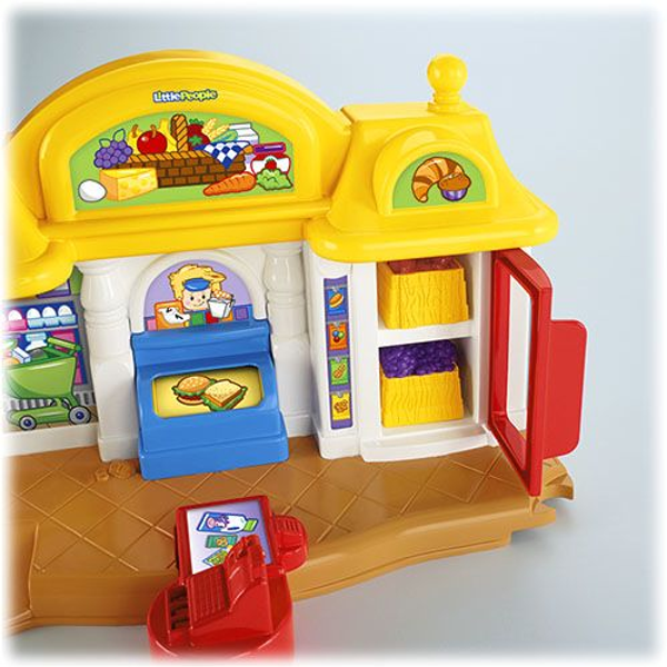 - Fisher-Price Little People Y8200 playhouse