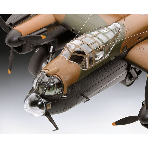 - Revell Avro Lancaster DAMBUSTERS 1:72 Assembly kit Fixed-wing aircraft