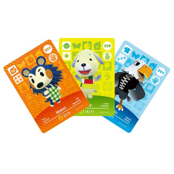 - Nintendo Animal Crossing amiibo Cards Triple Pack - Series 3 video game accessory