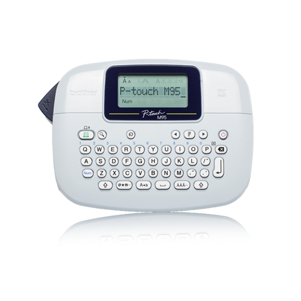 Brother - Brother PT-M95 label printer Thermal transfer 203 x 203 DPI QWERTY