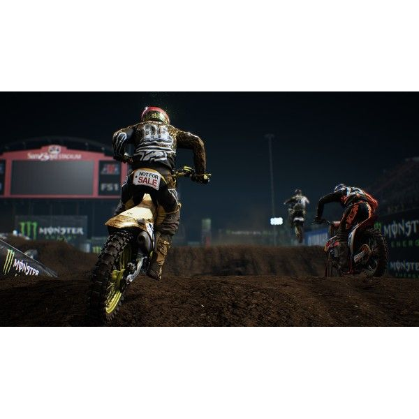 Big Ben Interactive - Monster Energy Supercross, 1 XBox One-Blu-ray Disc - The Official Videogame