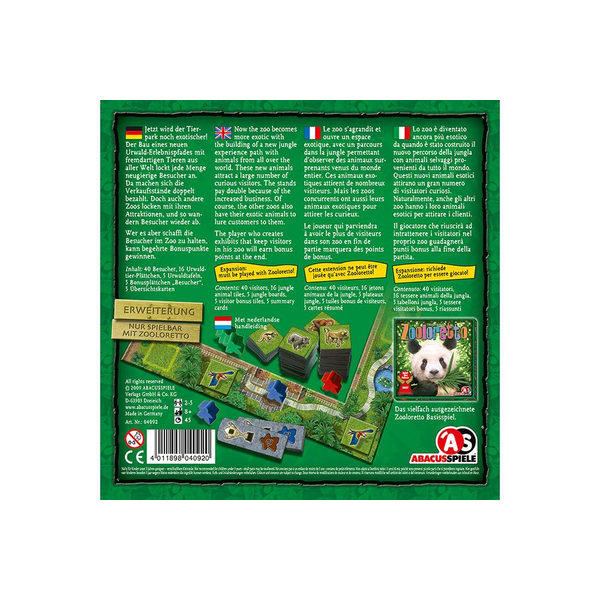 - ABACUSSPIELE ABA04092 board game expansion