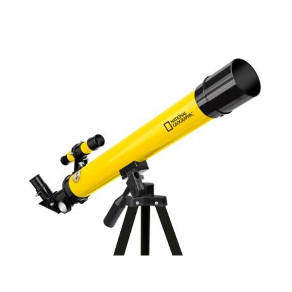 National Geographic - National Geographic BR-9101001 telescope Reflector 100x Black, Yellow