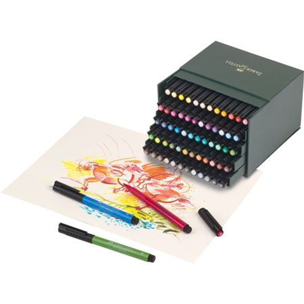 Faber-Castell - Faber-Castell 167150 fineliner Bold Multicolour 60 pc(s)