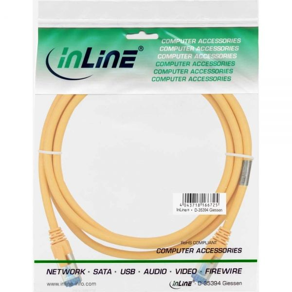 - InLine 4043718189403 networking cable Yellow 1.5 m Cat6a S/FTP (S-STP)