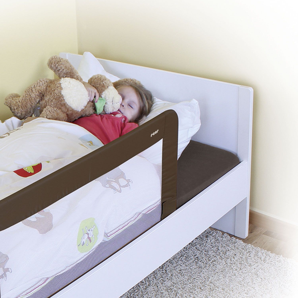 reer - reer 45040 baby bed part Bed rail Cappuccino, Sand Polyester, Metal