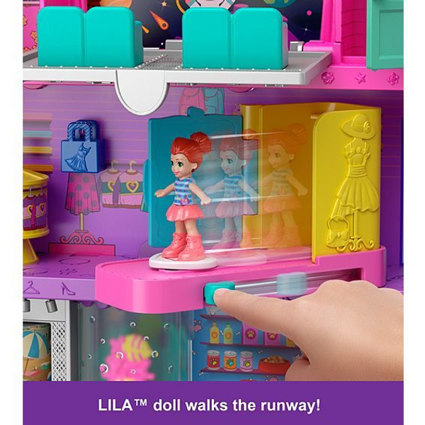 Barbie - Polly Pocket GFP89 Puppenhaus