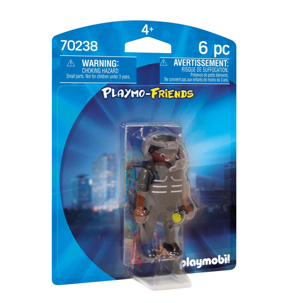 - Playmobil Playmo-Friends Tactical Unit Officer