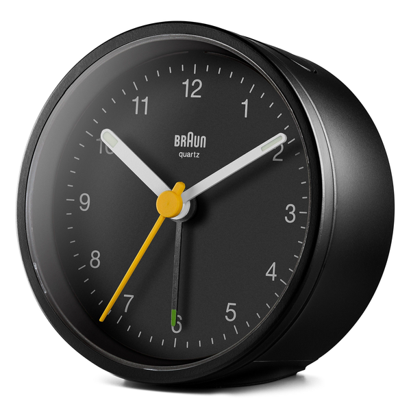 - Braun BC12 Quartz alarm clock Black