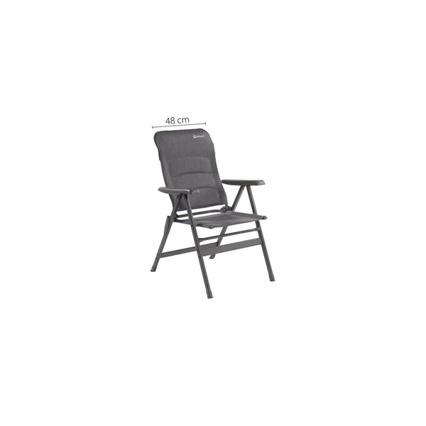 Outwell - Outwell Fernley Camping stool 4 leg(s) Grey