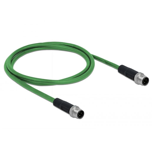 - DeLOCK 85917 networking cable Green 1 m SF/UTP (S-FTP)