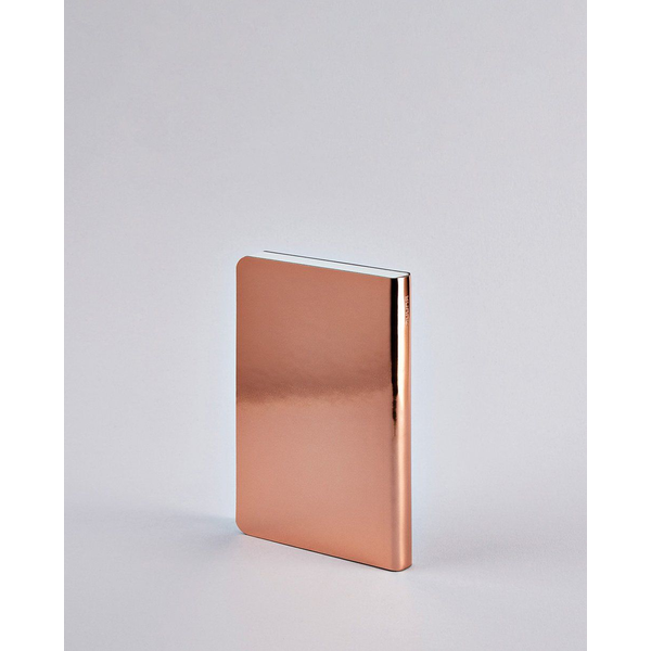 nuuna - nuuna Shiny Starlet S writing notebook A6 176 sheets Copper