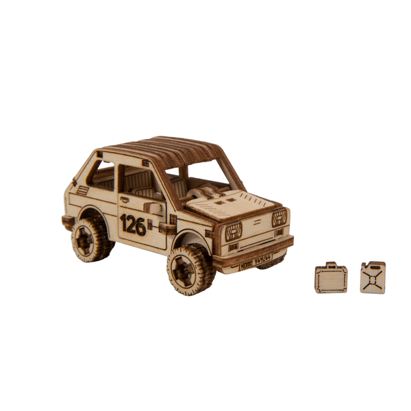 WOODEN.CITY - WOODEN.CITY RALLY CAR 3 3D puzzle