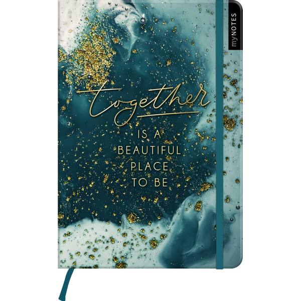 - myNOTES Notizbuch A5: Together is a beautiful place to be