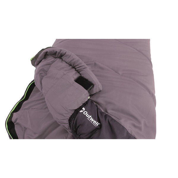 Outwell - Outwell Convertible Junior Mummy sleeping bag Polyester Purple