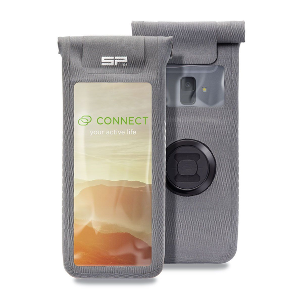 SP Connect - SP Connect Universal Phone Case Handy-Schutzhülle Beuteltasche Grau