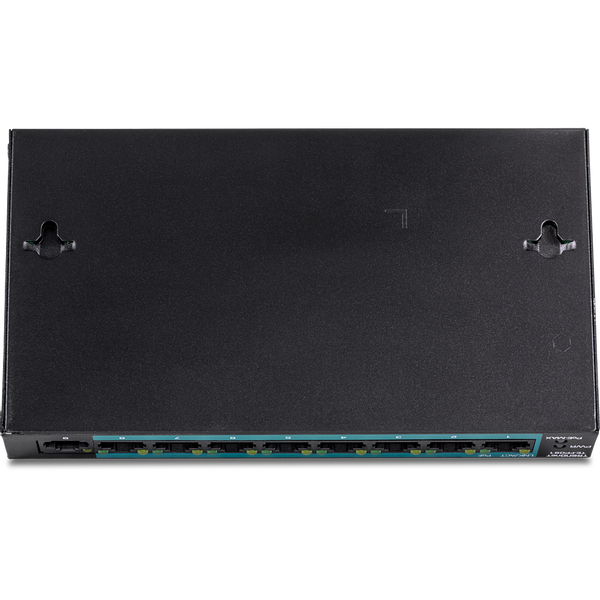 - Trendnet TE-FP091 network switch Unmanaged Fast Ethernet (10/100) Power over Ethernet (PoE) Black