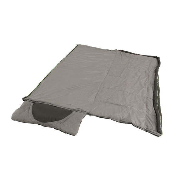 Outwell - Outwell Contour Adult Rectangular sleeping bag Polyester Black