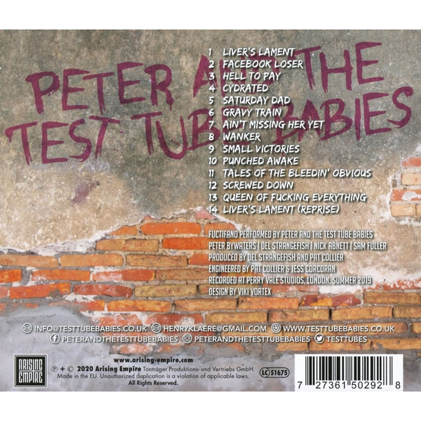 Peter And The Test Tube Babies - Fuctifano